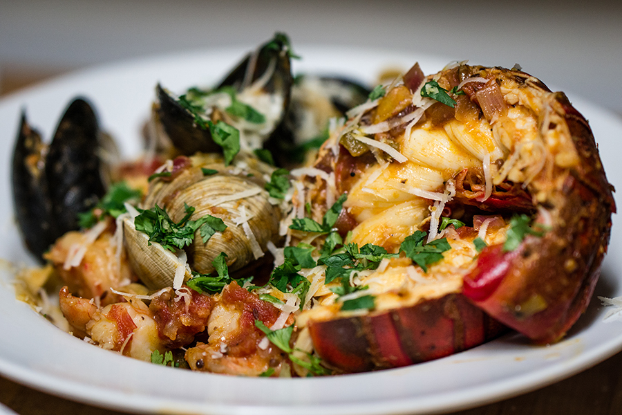 Lobster Curry Pasta Paella